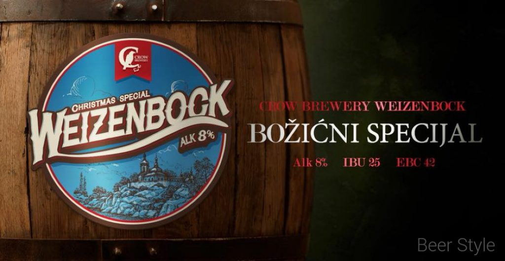 crow brewery weizenbock