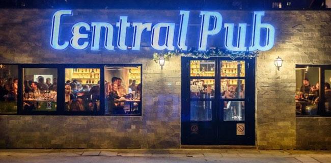 gde na pivo central pub