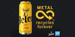 Jelen pivo daje snažnu podršku reciklaži limenki