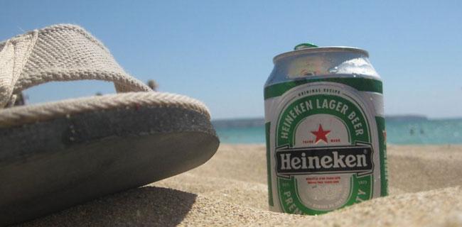 kako rashladiti pivo na plaži