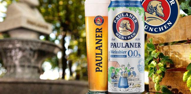 Paulaner Weissbier bezalkoholno pivo 0,0%