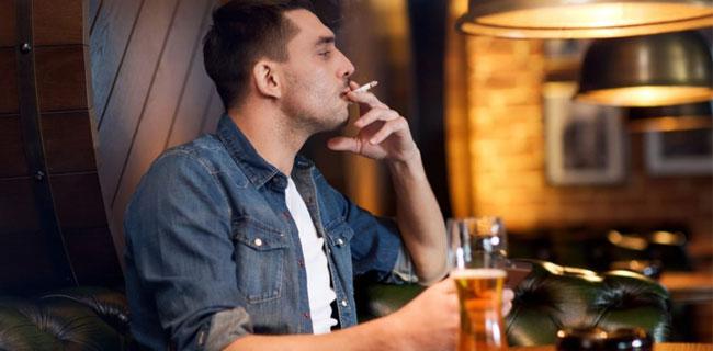 pivo i duvanski dim
